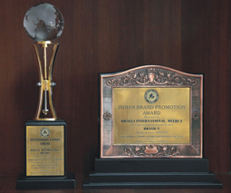Awarded by SGEPC for Highest Export of Branded Sports Goods