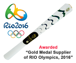 Awarded Gold Medal Supplier of Rio Olympics, 2016